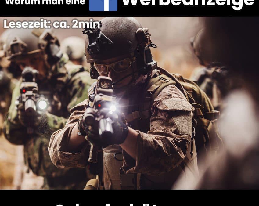 Warum man eine Facebook Werbeanzeige mit einem Scharfschützen vergleichen kann